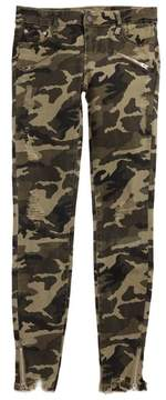 Tractr Girl's Camo Skinny Jeans