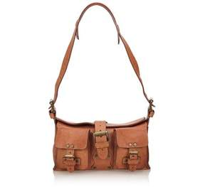 Mulberry Pre-owned: Leather Mini Roxanne.