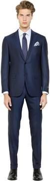 Ermenegildo Zegna Milano Easy Wool Herringbone Suit
