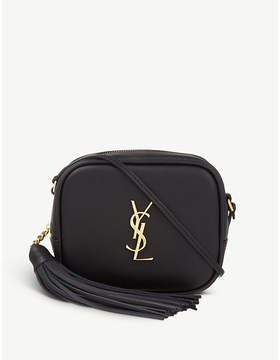 Saint Laurent Monogram Blogger leather shoulder bag - BLACK - STYLE