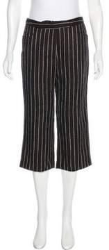 Bella Freud Mid-Rise Wool Pants