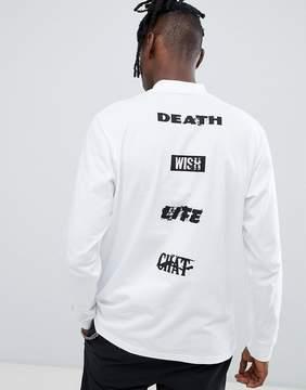 Carhartt WIP Long Sleeve Highneck Wish Loose Fit T-Shirt