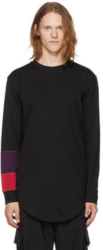 Pyer Moss Black Long Sleeve System Band T-Shirt