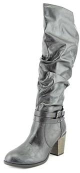 Diba Pilot Women Round Toe Synthetic Knee High Boot.