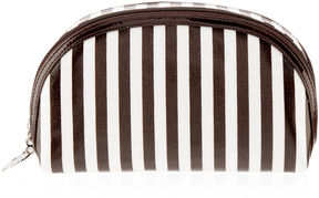Brown & White Two Zippered Case