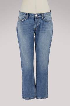 Current/Elliott Current Elliott The Cropped Straight jeans