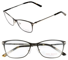 Ted Baker Women's 51Mm Metal Cat Eye Optical Glasses - Black