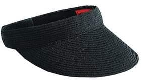 San Diego Hat Company Women's Ultrabraid Small Brim Visor Ubv003.