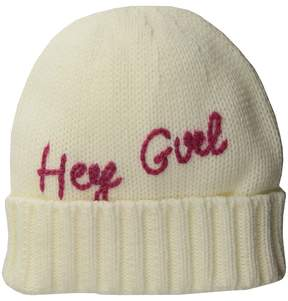 San Diego Hat Company Mckenna Bleu Blogger Collaboration Hey Girl Beanie Beanies