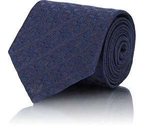 Isaia Men's Floral Silk Jacquard Necktie