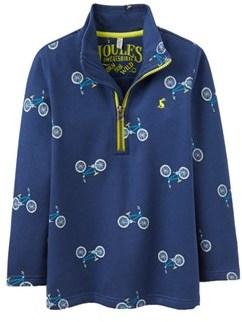 Joules Kids' 1/2-zip Sweatshirt.