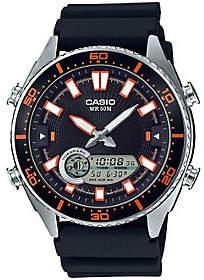 Casio Men's Black Analog-Digital Watch