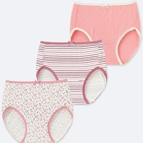 Uniqlo Girl's Shorts 3 Pack