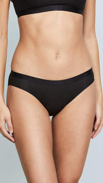 Calvin Klein Underwear Black Structure Cotton Bikini Briefs