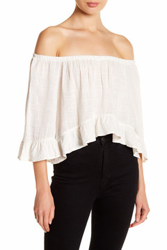 Clayton Abby Off-the-Shoulder Blouse