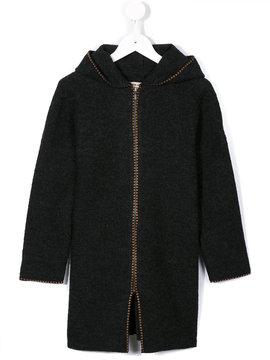Caramel Clifford zipped hoodie