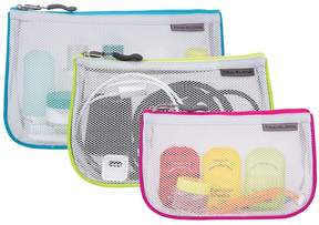 Travelon Zippered Mesh Pouches (3-Pack)