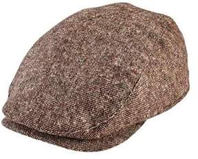 San Diego Hat Company Unisex Children's Tweed Flat Cap Ctk4197.