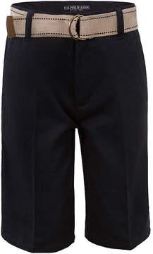 U.S. Polo Assn. USPA Belted Shorts - Preschool Boys 4-7