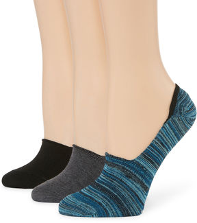 Libby Edelman 3 Pair Knit Liner Socks - Womens