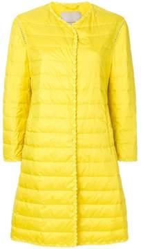 Ermanno Scervino scalloped padded jacket