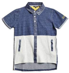GUESS Boy's Short-Sleeve Contrast Polo (7-18)