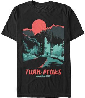 Fifth Sun Black Parks Poster Twin Peaks Tee - Men