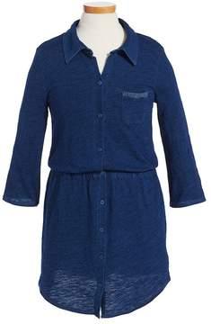Splendid Knit Shirtdress (Big Girls)