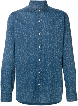 Barba floral embroidered shirt