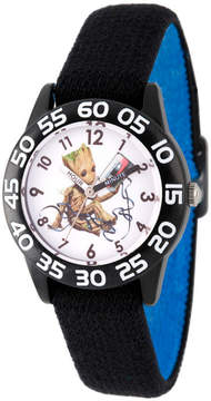 Marvel Guardian Of The Galaxy Boys Black Strap Watch-Wma000124