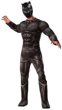 Marvel Adult Captain America: Civil War Black Panther Deluxe Costume