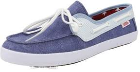Vans Women's Chauffette Americana Stv Navy / Forget Me Not Ankle-High Canvas Fashion Sneaker - 5M