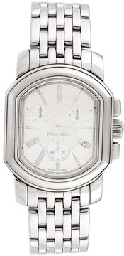 Tiffany & Co. Mark Coupe Chronograph Stainless Steel 33mm Mens Watch