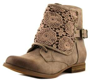 Not Rated Crafty Women Round Toe Synthetic Tan Ankle Boot.