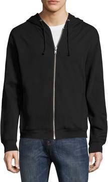 BLK DNM Men's Cotton Zip Sweatshirt