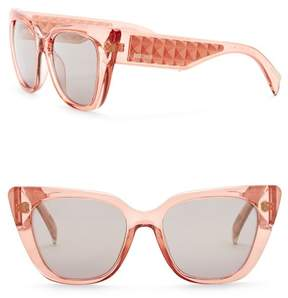 Just Cavalli Cat Eye 53mm Injected Sunglasses