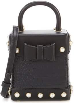 Sam Edelman Charlie Croco Box Cross-Body Bag