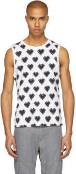 Facetasm White and Black Heart T-Shirt