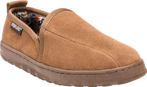 Muk Luks Double Gore Printed Berber Suede Slip On (Men's)