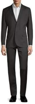 J. Lindeberg Hopper Plaid Wool Suit