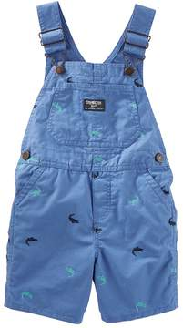 Osh Kosh Oshkosh Bgosh Toddler Boy Embroidered Shortalls