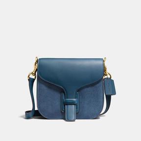 COACH Coach Courier Bag - BRASS/DARK DENIM - STYLE