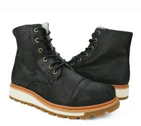 Burnetie Men's Snow Boots M Black.