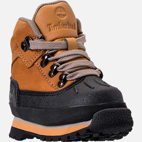 Timberland Boys' Toddler Euro Hiker Shell Toe Boots