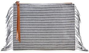 Bradford Fabric Pouch w/ Fringe