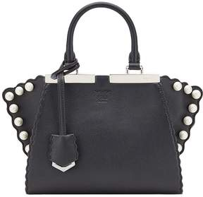 Fendi 3Jours pearl leather tote bag