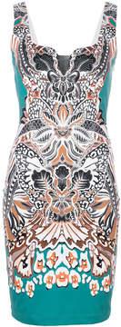 Just Cavalli floral print mini dress