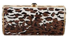 Judith Leiber Crystal-Embellished Convertible Clutch