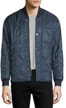 Burberry Quilted Polyester Bomber Jacket