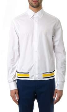 Loewe Bomber Style White Cotton Shirt